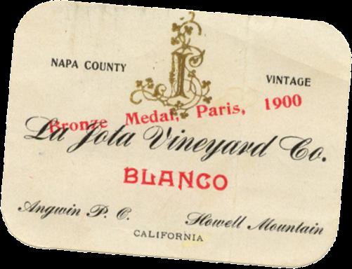 La Jota Vineyard Co label