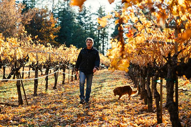 Winemaker Chris Carpenter